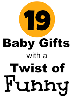 19 Cute Baby Gifts With a Twist of Humor