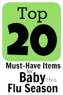 Top 20 Must-Have Items for Sick Baby this Flu Season Blog Post Title Photo