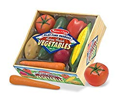 21. Playtime Fruits and Veggies, by Melissa and Doug